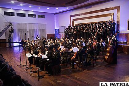 Los músicos suspendieron varias presentaciones /Orquesta Sinfónica Bolivia Joven /Facebook