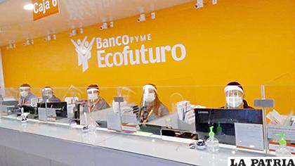 El personal de Ecofuturo se esmera para atender con calidad a su clientela / FOTO: ECOFUTURO