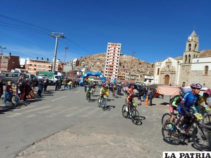 Una jornada especial para el ciclismo en Oruro /LA PATRIA