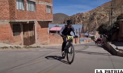 La competencia fue bastante exigente para los ciclistas /LA PATRIA