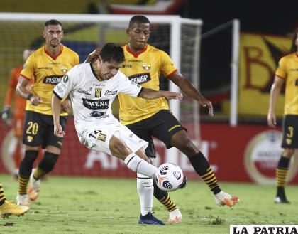 """El """"tigre"""" perdió en sus dos primeros cotejos, ante Boca en La Paz y Barcelona en Guayaquil /APG"""