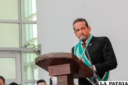 El flamante gobernador de Santa Cruz, Fernando Camacho /RR.SS.