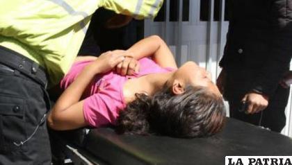 La menor fue internada para recibir cuidados médicos /Foto referencial
