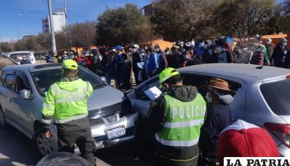 El accidente fue investigado por Tránsito y el Ministerio Público /LA PATRIA