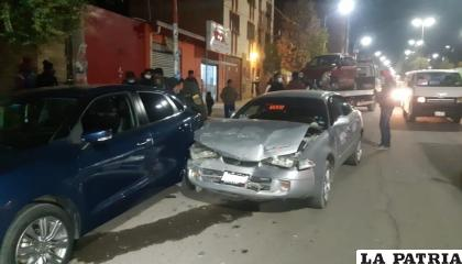 El accidente involucró, en total, a cuatro motorizados /LA PATRIA