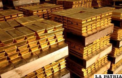 El oro es utilizado para elaboración de joyas o su exportación
