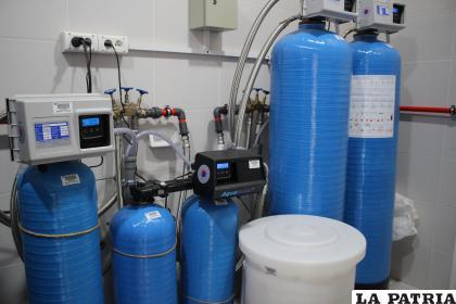 Planta de agua del área de hemodiálisis /LA PATRIA