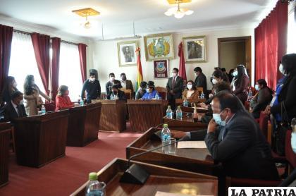 El Concejo Municipal comienza su labor dentro de este nuevo periodo /LA PATRIA