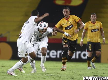 En el partido de ida, ganó el cuadro ecuatoriano en Guayaquil 4-0 /APG