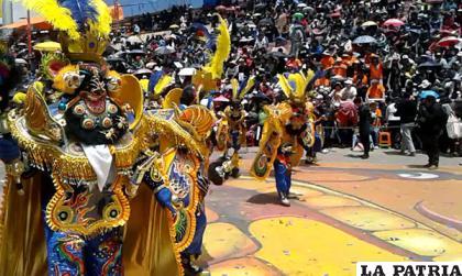 La Morenada es un patrimonio de los bolivianos /LA PATRIA