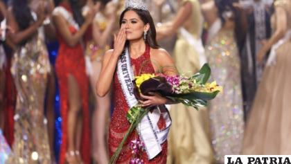 La nueva Miss Universo 2021 es la mexicana Andrea Meza /Prensa Libre