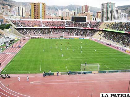 """El estadio """"Hernando Siles"""" pasaría a un segundo plano en La Paz"""