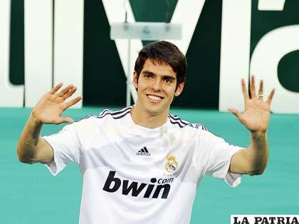 Kaká, también tiene otras aptitudes ajenas al fútbol