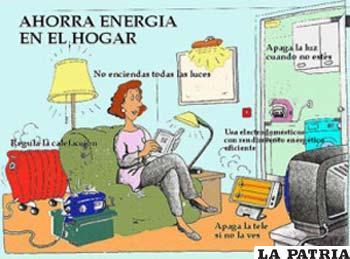Ahorrar energ a es tambi n cuidar el medio ambiente - Maneras de ahorrar energia ...