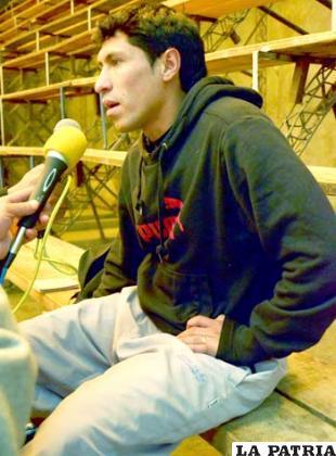 Ronald Puma, pretende volver a San José