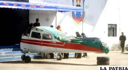 Narco avioneta de Ávila quedó incautada