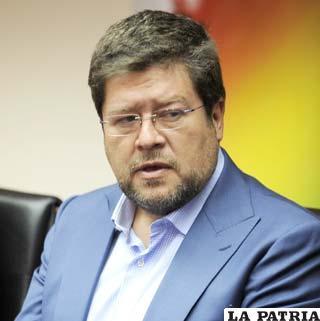 Empresario y líder de Unidad Nacional (UN), Samuel Doria Medina