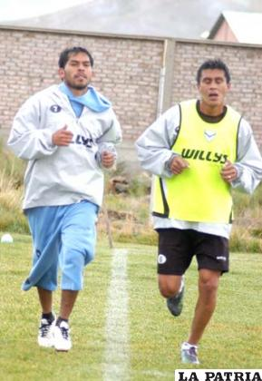 Alejandro Bejarano junto a Rolando Ribera