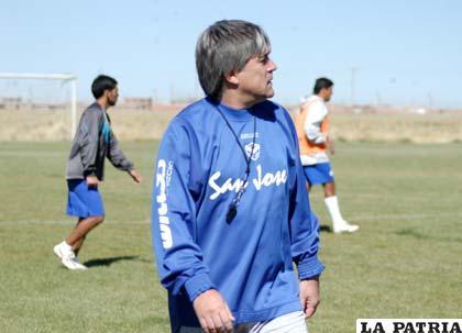 Marcelo Javier Zuleta D.T. de San José
