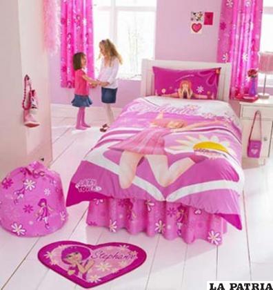 Mil temas para decorar la habitaci n de tu ni a - Decorar habitacion nina 8 anos ...