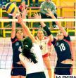 Con 29 cotejos continúa el torneo oficial de voleibol