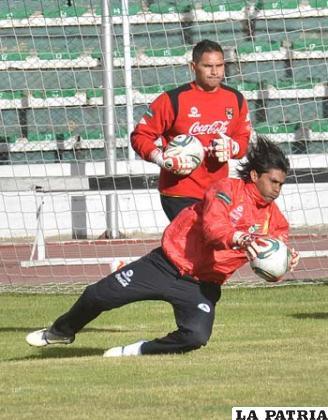 Sergio Galarza defenderá el arco de la Selección boliviana