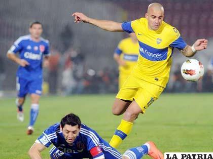 Santiago Silva buen valor de Boca Juniors