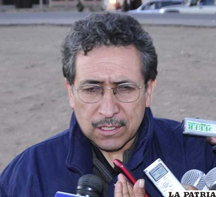 Héctor Córdova, presidente de Comibol