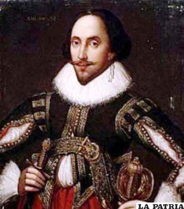 Retrato del escritor William Shakespeare