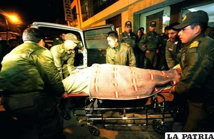 Dos cadetes de la Anapol pierden la vida tras caída de una baranda