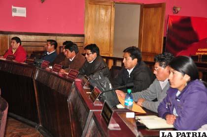 Divergencias al interior de la Comisión Especial de la Asamblea Departamental