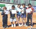 Pequeños tenistas con un gran futuro