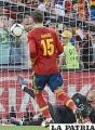 Ramos en el lanzamiento penal (foto. ole.com)
