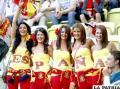 Seguidoras de la selección española (foto: ole.com)