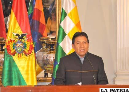 Canciller boliviano dice que demanda marítima no es acto inamistoso