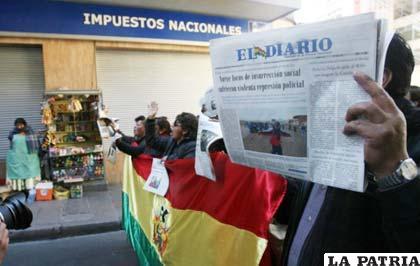 SIP: Embargo de El Diario es mal antecedente para la libertad de expresión