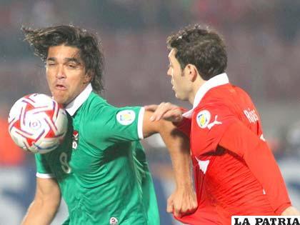 Martins anotó el único gol boliviano