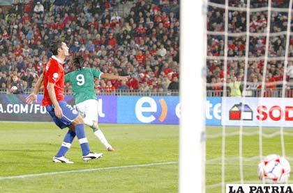 El gol de Marcelo Martins sólo fue una ilusión en el partido