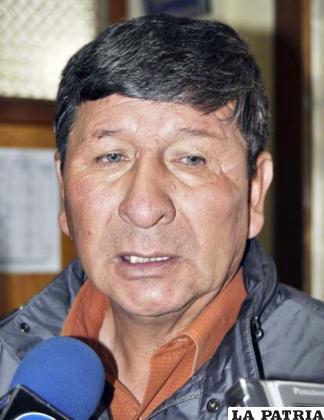El presidente del club San José, Freddy Fernández