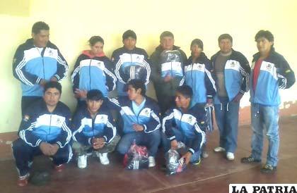 Boxeadores orureños que participarán en el torneo nacional