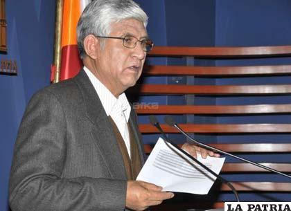 Ministro de Minería dice que está listo el proyecto de ley minera