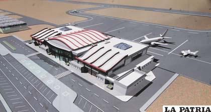 Entrega definitiva del aeropuerto será en noviembre