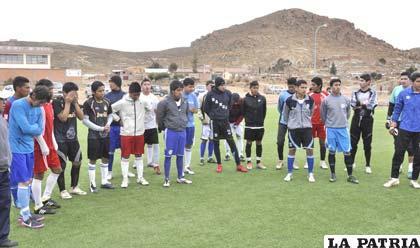 Más de un centenar de jóvenes futbolistas tienen el deseo de ser parte de San José