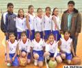 Integrantes del equipo del colegio Jesús María