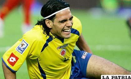 Falcao será el gran ausente en la selección colombiana de fútbol