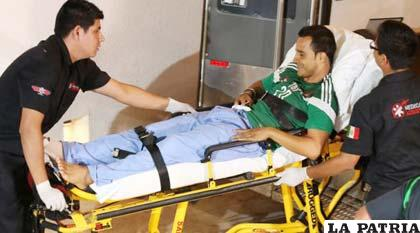 Luis Montes se encuentra en etapa de recuperación