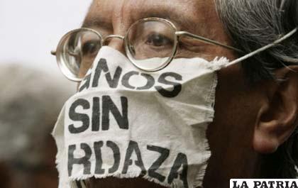Hoy los periodistas se movilizan para defender el derecho de guardar en secreto la fuente informativa (ANF)