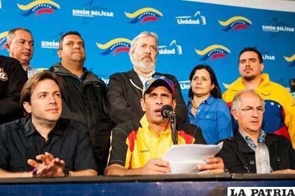 Oposición venezolana acusa a Nicolás Maduro de no continuar con el diálogo