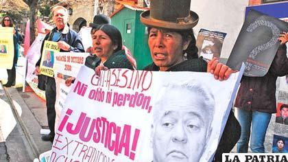 Bolivia, a través de la Fiscalía, avanza en el pedido de extradición de Goni
