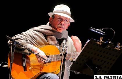 El cantautor cubano Silvio Rodríguez